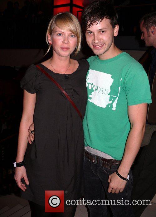 Franz Dinda, girlfriend Anja Hennessy Artistry Night at...