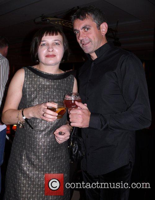 Wladimir Kaminer, wife Olga Hennessy Artistry Night at...