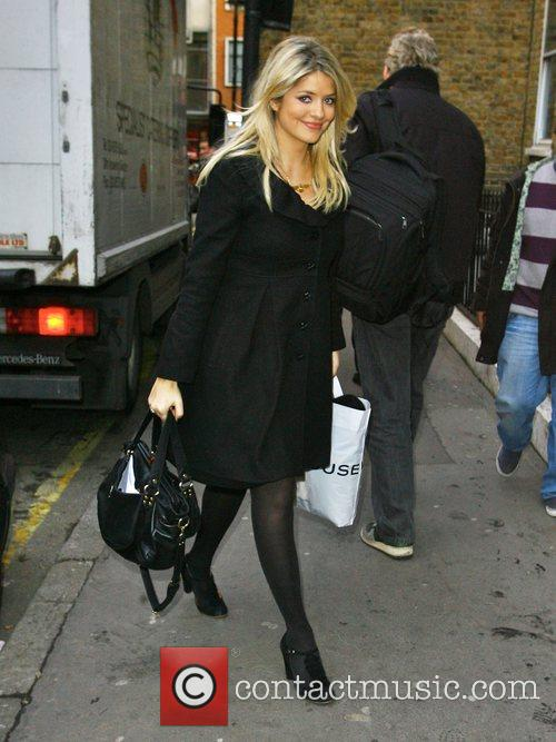 Holly Willoughby arrives for a business meeting in...