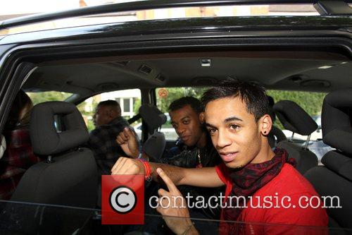Aston and Ortise from X Factor finalist band...