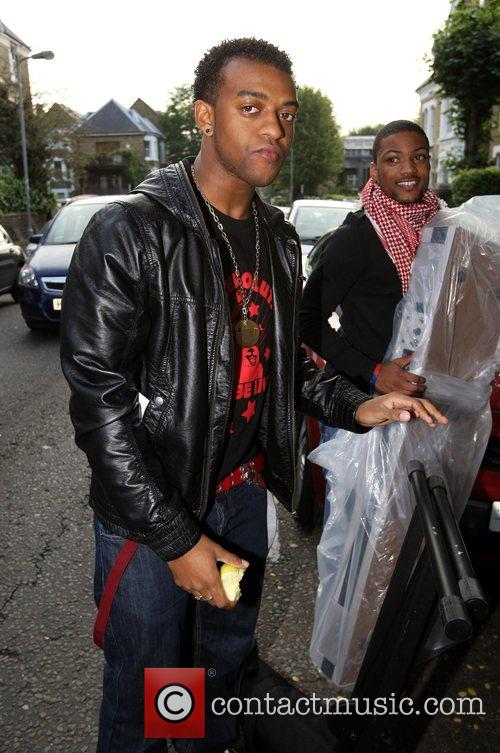 Ortise from X Factor finalist band JLS leaving...