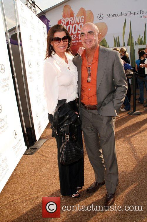 Linell Thomas and Robert Shapiro Mercedes-Benz LA Fashion...