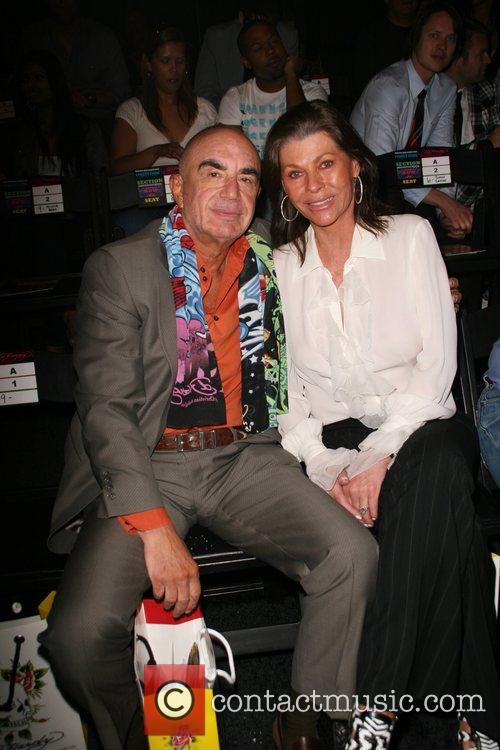 Robert Shapiro and Linell Thomas Mercedes-Benz LA Fashion...
