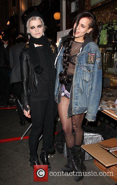 Pixie Geldof and Alice Dellal 2