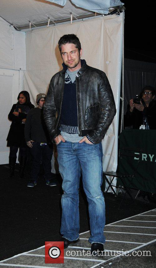 Gerard Butler Mercedes-Benz IMG New York Fashion Week...