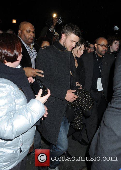 Justin Timberlake and Jessica Biel Mercedes-Benz IMG New...