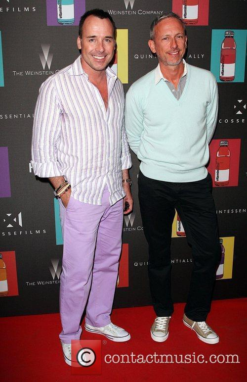 David Furnish and Patrick Cox Quintessentially hosts 'Nowhere...