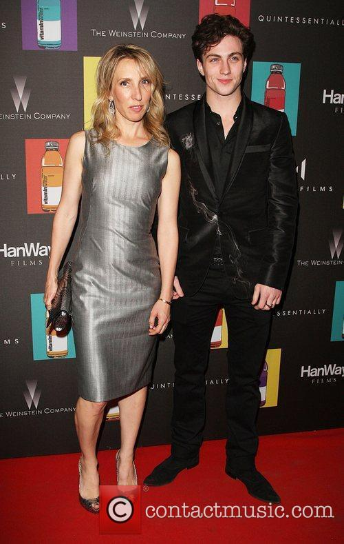 Sam Taylor-Wood and Aaron Johnson Quintessentially hosts 'Nowhere...