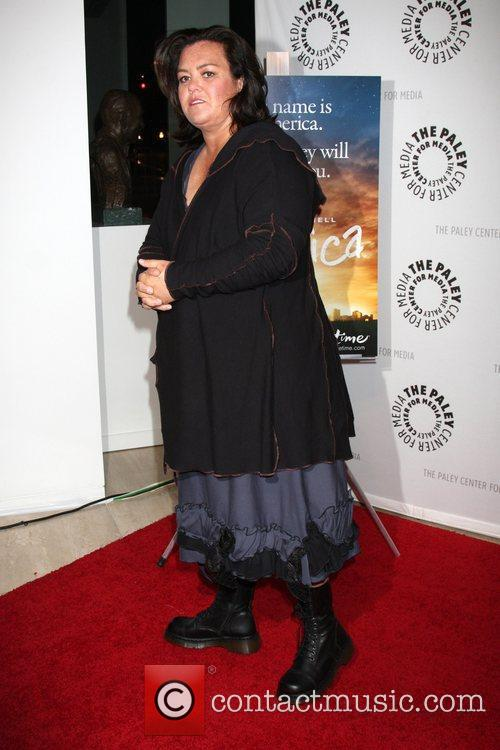 Rosie O'Donnell arriving at the America Screening Event...