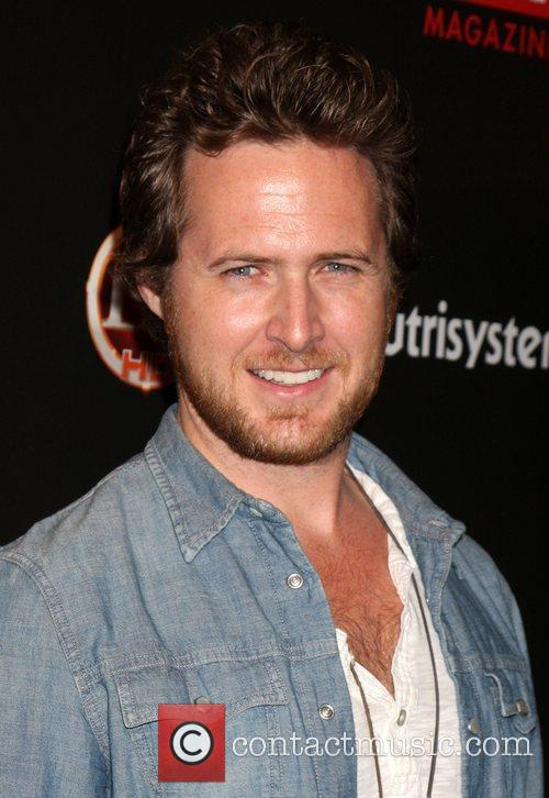 AJ Buckley arriving at the TV Guide Magazine...