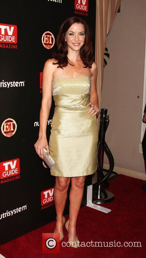 Annie Wersching arriving at the TV Guide Magazine...