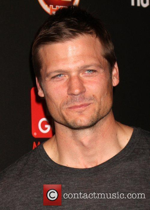 Bailey Chase arriving at the TV Guide Magazine...