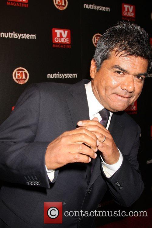 George Lopez arriving at the TV Guide Magazine...