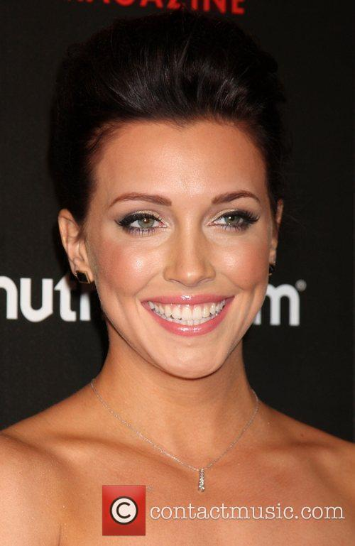 Katie Cassidy arriving at the TV Guide Magazine...