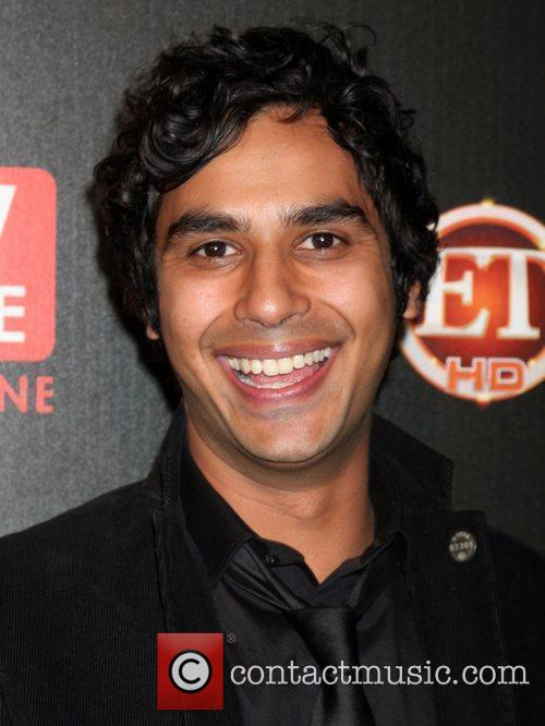 Kunal Nayyar arriving at the TV Guide Magazine...