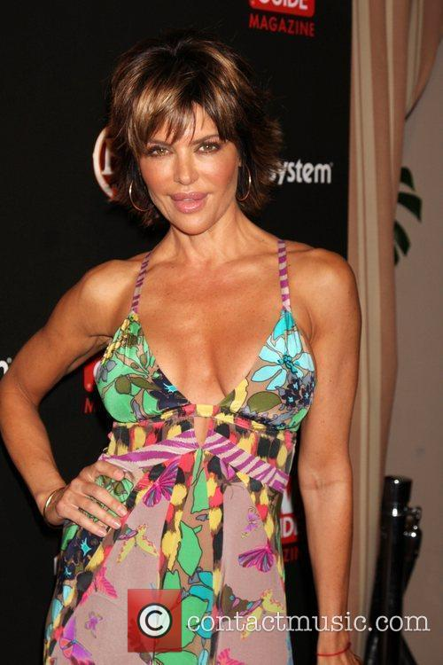 Lisa Rinna arriving at the TV Guide Magazine...
