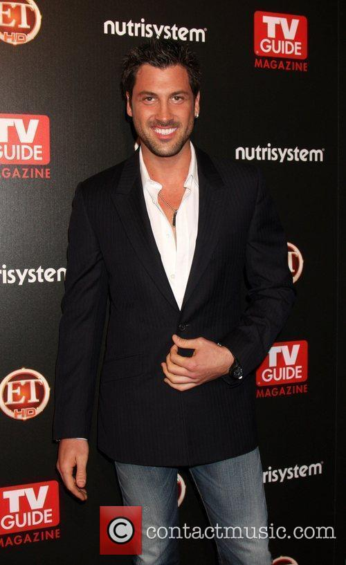 Maksim Chmerkovskiy arriving at the TV Guide Magazine...