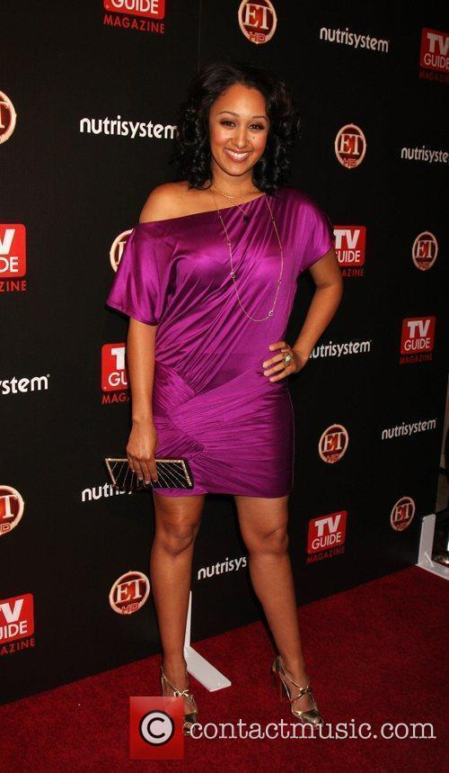 Tamara Mowry arriving at the TV Guide Magazine...