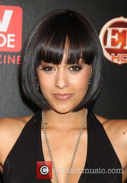 Tia Mowry arriving at the TV Guide Magazine...
