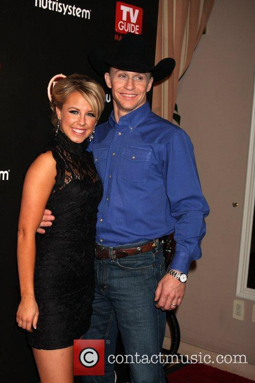 Ty Murray & Chelsie Hightower arriving at the...