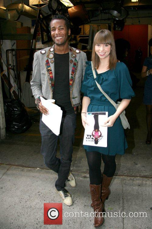 Jerell and Leanne finalists on Bravo's 'Project Runway'...