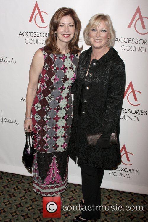 Dana Delany and Cate Adair arriving to the...