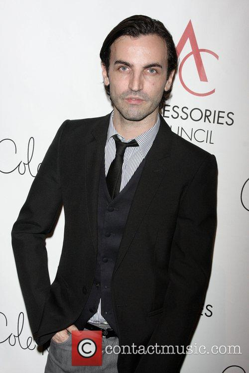 Designer Nicholas Ghesquiere arriving to the 12th annual...