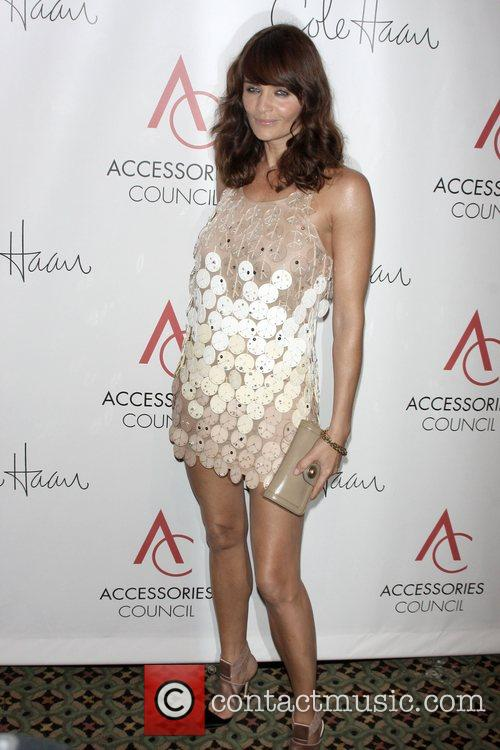 Helena Christensen arriving to the 12th annual ACE...