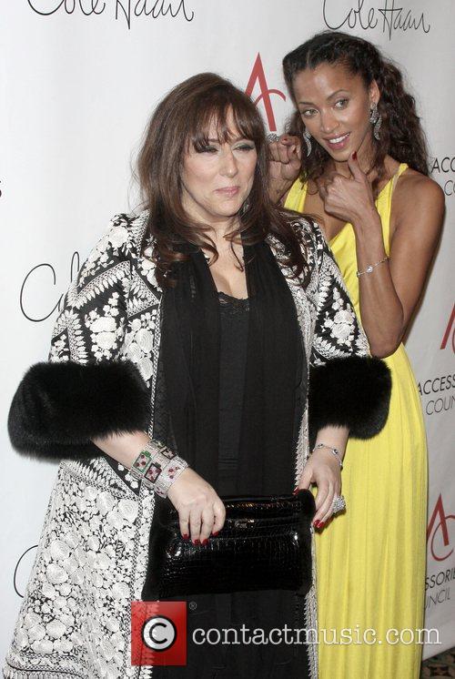 Lorraine Schwartz and Noemi Lenoir arriving to the...