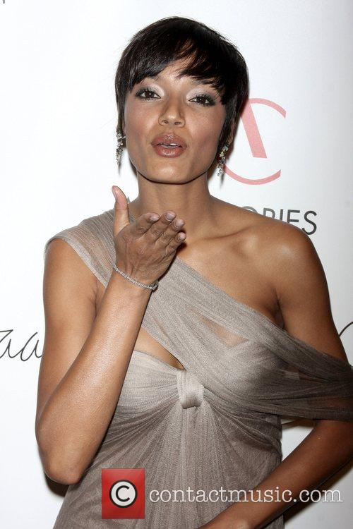 Selita Ebanks arriving to the 12th annual ACE...