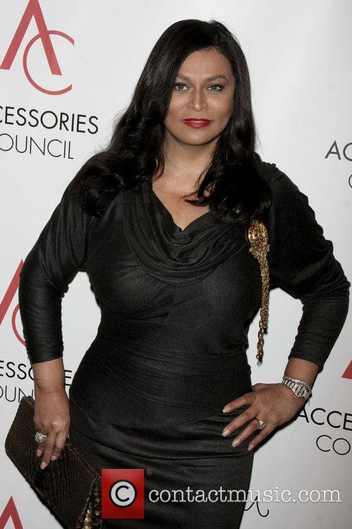 Tina Knowles arriving to the 12th annual ACE...