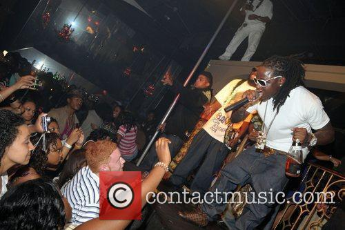 Antoine McColister aka Ace Hood performing at the...