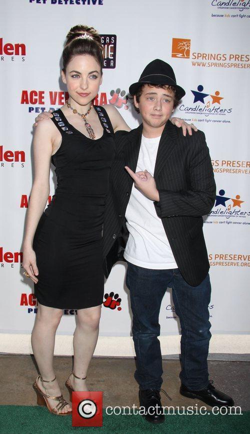 Brittany Curran, Ryan Malgarini 'Ace Ventura Jr. Pet...