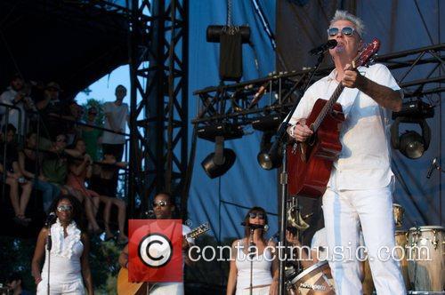 David Byrne Austin City Limits Music Festival at...