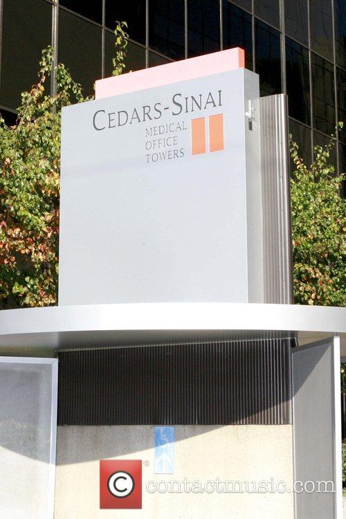 Ben Affleck and Jennifer Garner outside Cedars-Sinai medical...