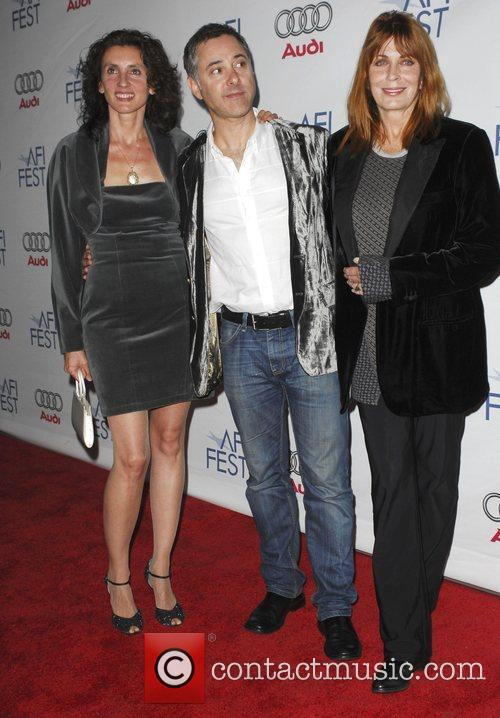 Helene Muddiman, Anthony Fabian and Joanna Cassidy AFI...