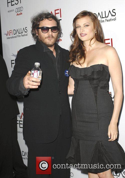 Joaquin Phoenix and Vinessa Shaw AFI Film Festival...