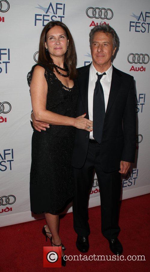 Lisa Gottsegen, Dustin Hoffman AFI Screening of 'Last...