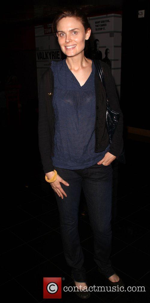 Emily Deschanel AFI Screening of 'The World We...