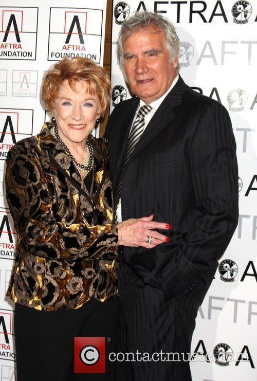 Jeanne Cooper and John Mccook