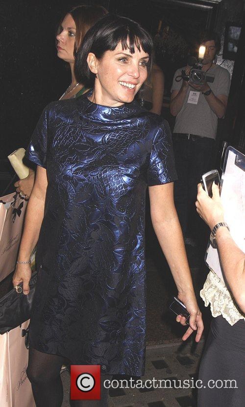 Sadie Frost leaves the Agent Provocateur party, held...