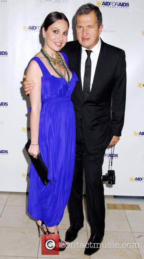 Aid for Aids International Honors Mario Testino at...