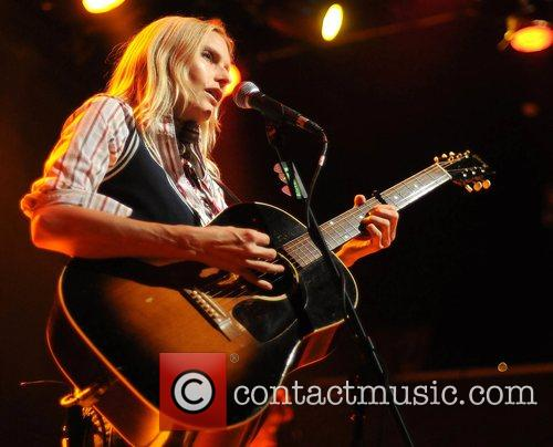 Aimee Mann performing live at the Tripod supported...