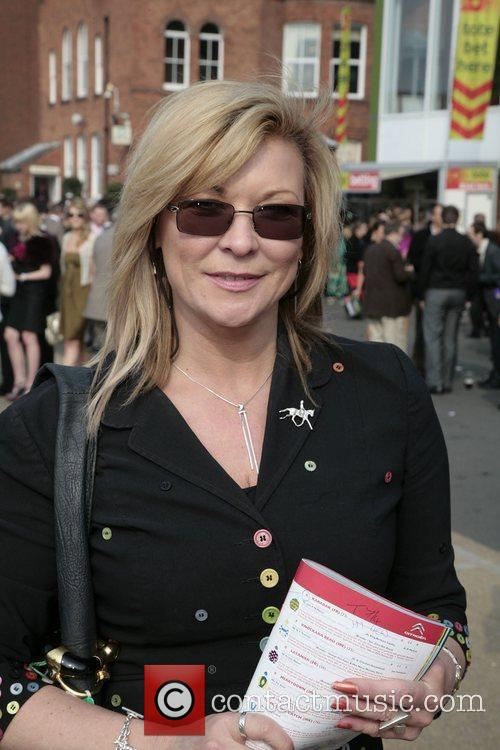 Claire King attend Ladies Day at the Grand...