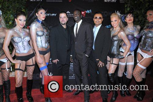 Akon and Clive Seecomar 4