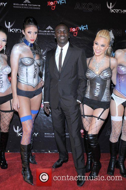Akon Release party for Akon's 3rd album 'Freedom'...