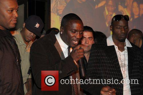 Release party for Akon's 3rd album 'Freedom' held...