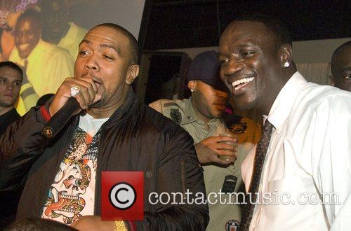 Timbaland and Akon 7