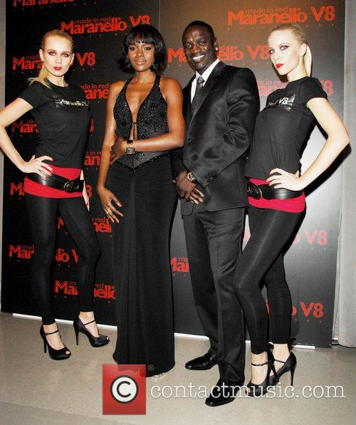 Akon, Guest and Models 6