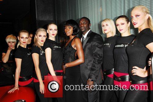 Akon and Models 2